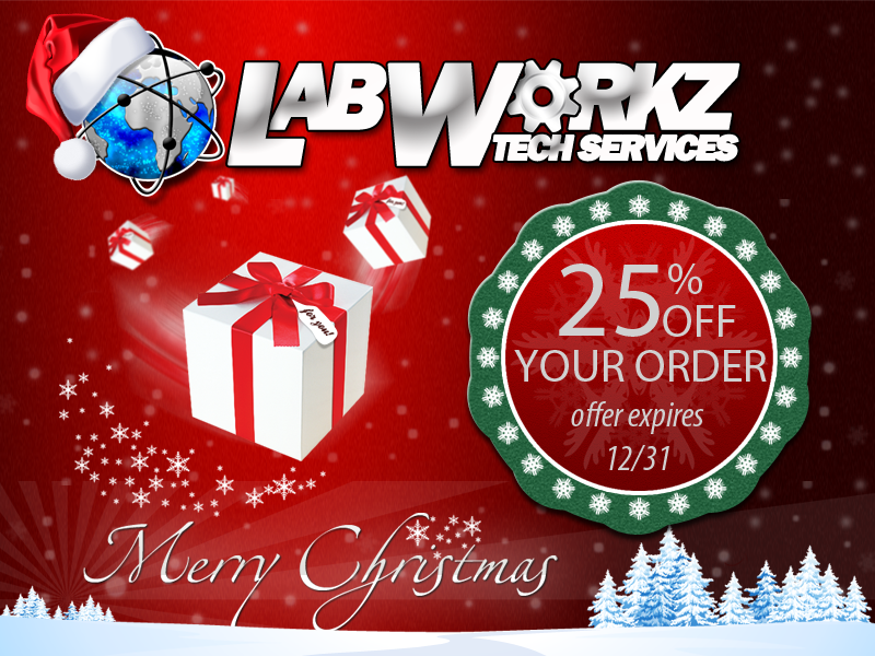 LabWorkz Holiday Gift
