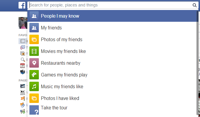FacebookInstantSearch